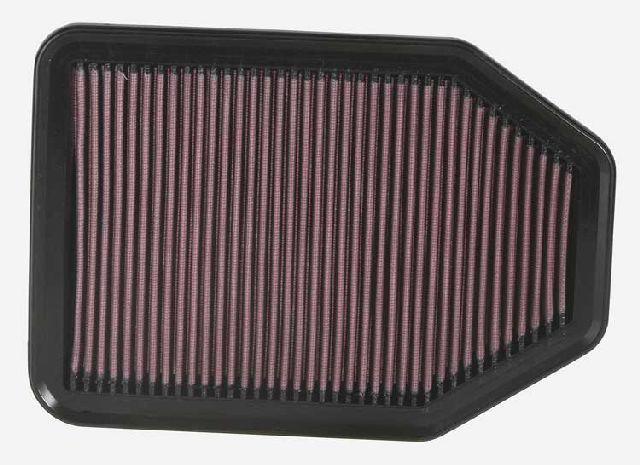 K & N Tauschluftfilter für Jeep Wrangler 2.8CRD Turbodiesl
