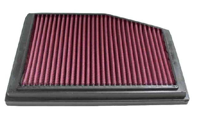 K & N Tauschluftfilter für Porsche Boxster (986) 2.5i, 2.7i, 3.2i