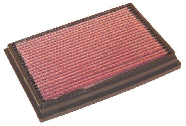 K & N Tauschluftfilter für Ford Fiesta 1.1i (Plattenfilter)
