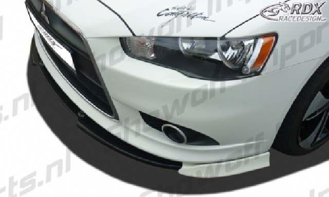 RDX Frontspoiler VARIO-X MITSUBISHI Lancer Sportback 2008 Frontlippe Front Ansatz Vorne Spoilerlippe