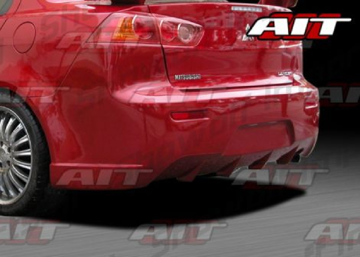 Mitsubishi Lancer 07-11 C-West-Weapon Rear Bumper AIT