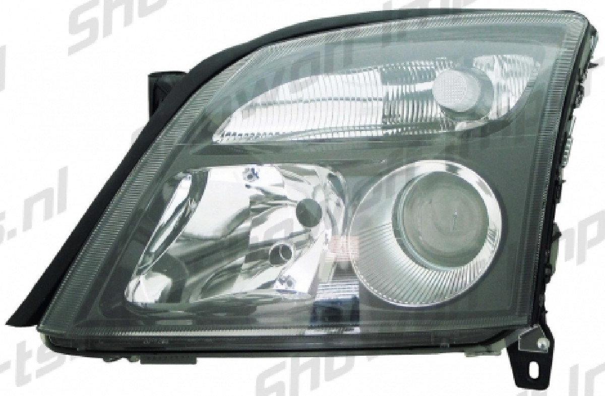 Opel Vectra C/Signum Headlights Black/Clear V1