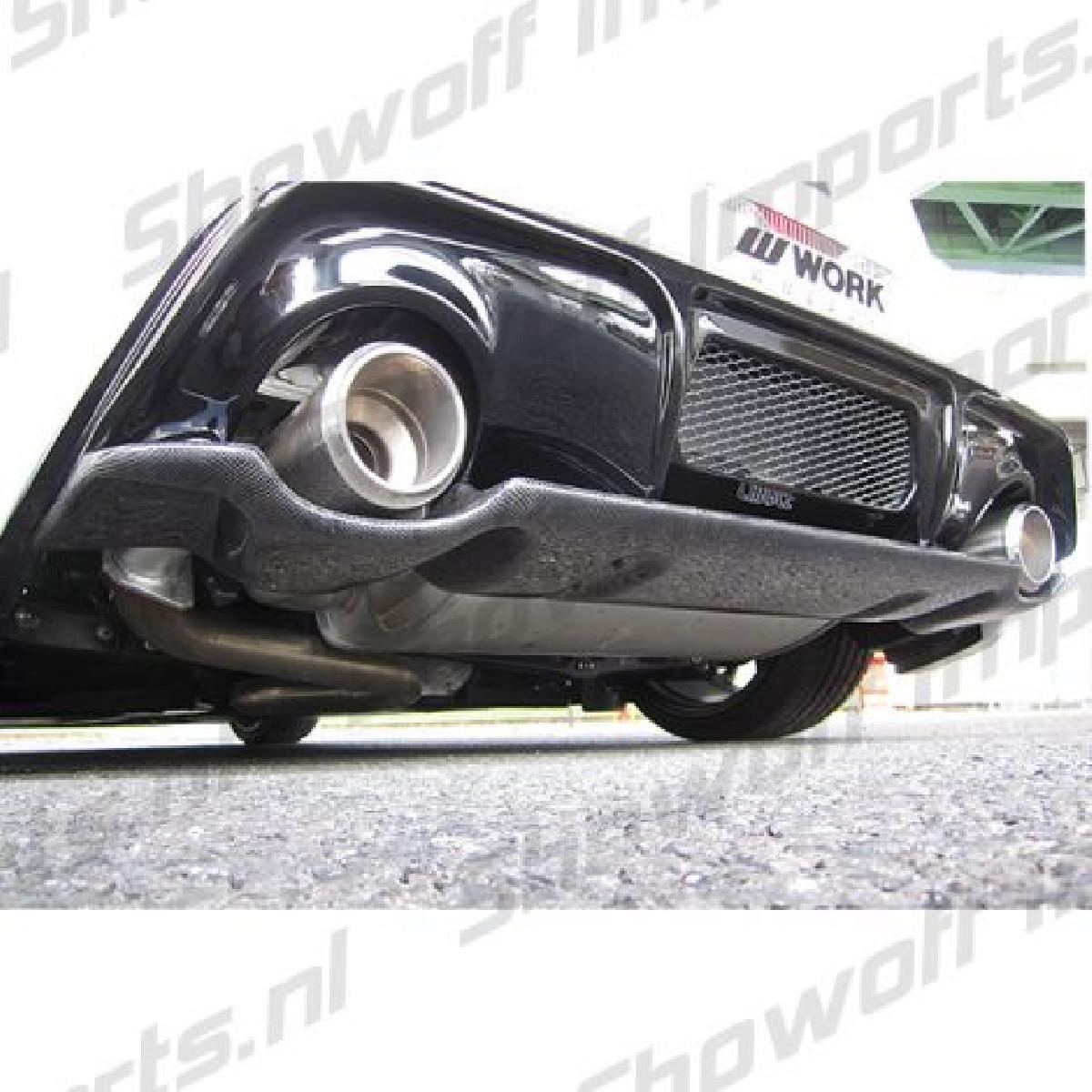Subaru BRZ Chargespeed Rear JDM Diffusor