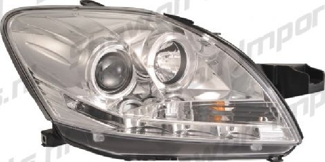 Toyota Yaris 09+ Headlights Set DRL Clear