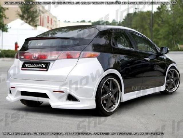 Honda Civic 06+ 3D Neodesign Rear Bumper Heckstoßstange