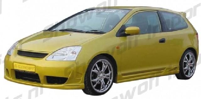 Honda Civic 3D 01+ Sideskirts [Carcept]