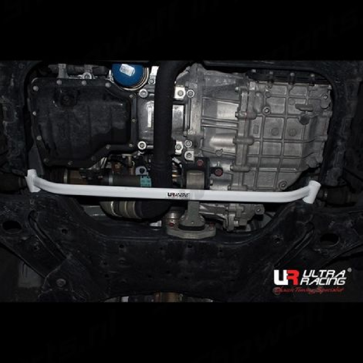 Hyundai Veloster 11+ UltraRacing 2P Front Lower Brace