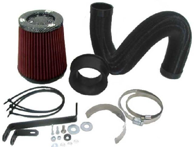 K & N 57i Performance Kit für VW Golf IV 1.8i Turbo ohne 25mm Schlauch am Filterkasten