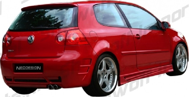 VW Golf V Uni Neodesign Rear Bumper