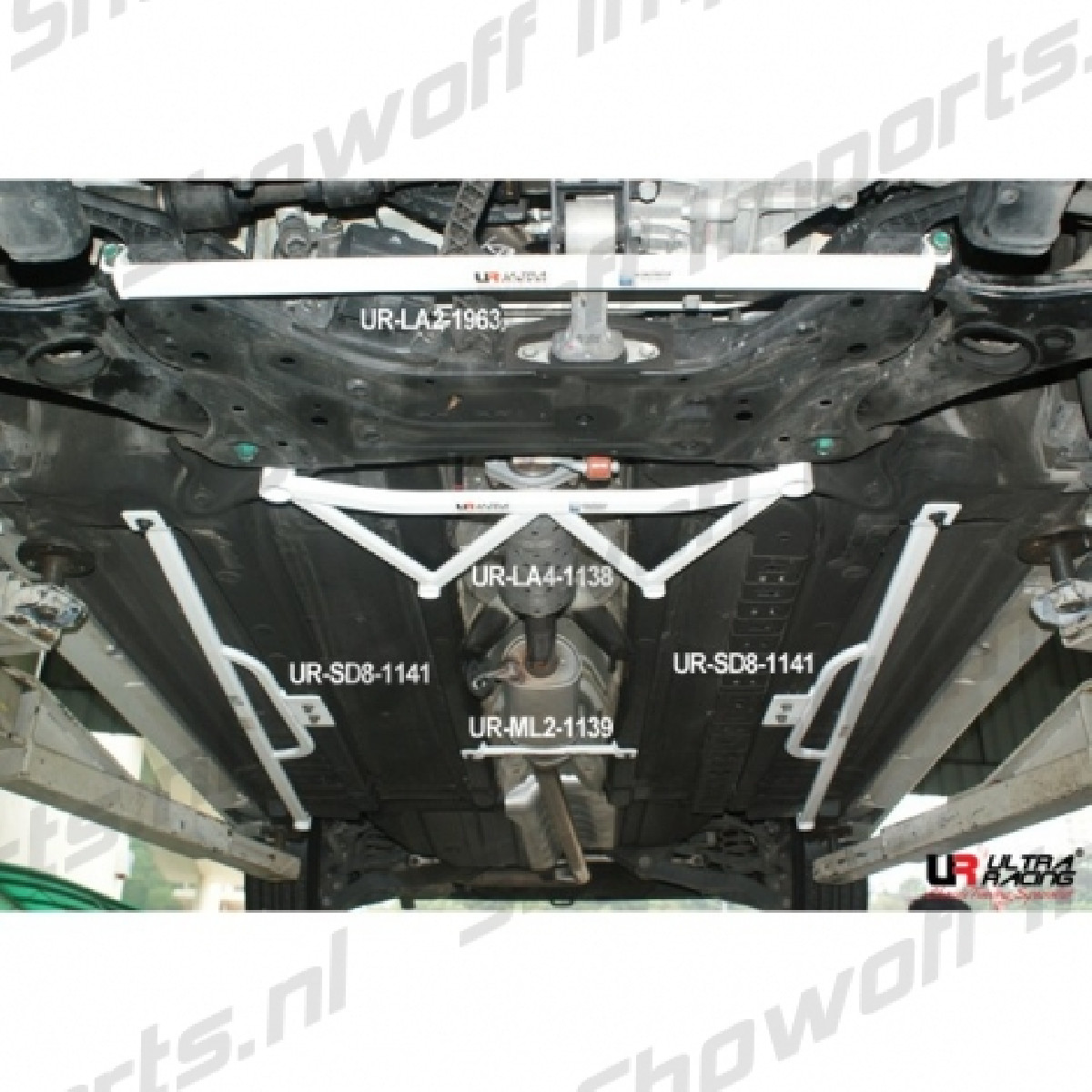 Hyundai  IX35 10+ 2.0/2.4 Ultra-R Front Lower Bar 1963