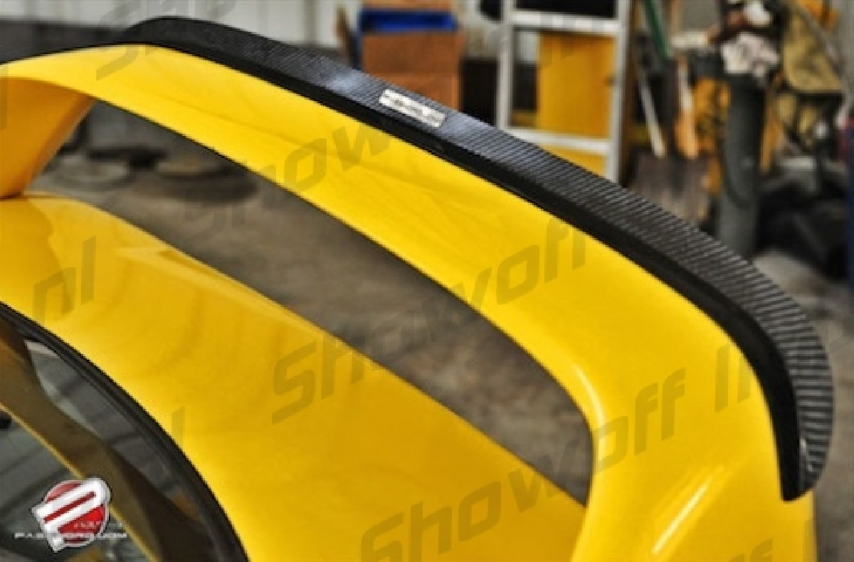 Honda Integra DC2 95-00 PWJDM Carbon spoiler lip/Gurney Flap
