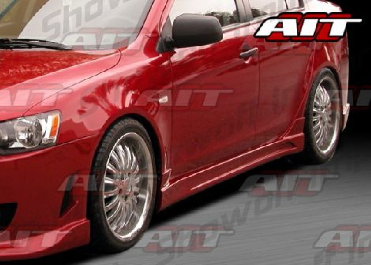 Mitsubishi Lancer 07-11 C-West-Weapon Sideskirts Set [AIT]