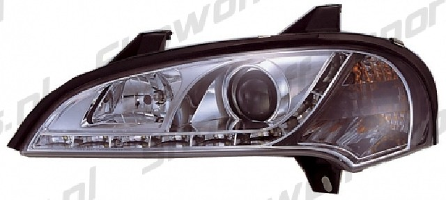 Opel Tigra A R8 Style LED Headlights Chrome V1