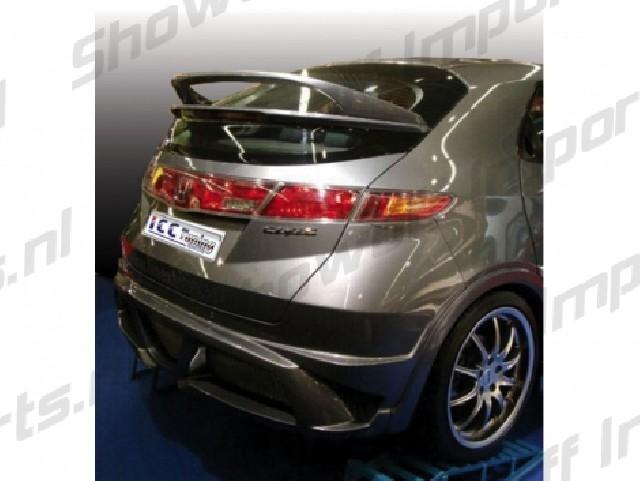 Honda Civic 06+ 3/5D WRX Style Double Rear Spoiler