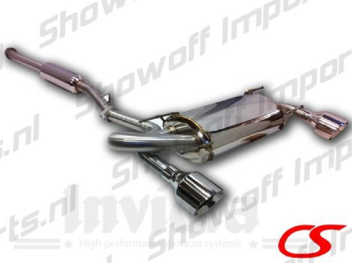 Subaru BRZ Catback System Circuit Sports ECE