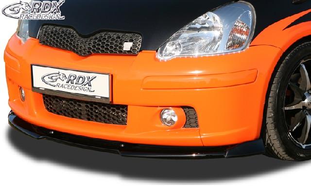 RDX Frontspoiler VARIO-X TOYOTA Yaris TS P1 2003-2005 Frontlippe Front Ansatz Vorne Spoilerlippe