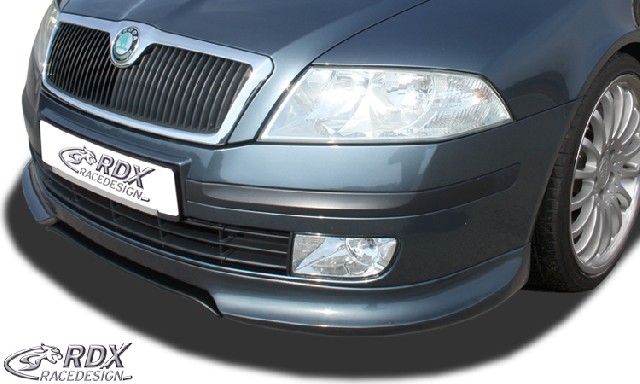 Frontspoiler Skoda Octavia 2 / 1Z -2008 (nicht RS) Frontlippe Front Ansatz Spoilerlippe