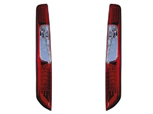 Ford Focus Mk2 08-11 LED Taillights Set Red/Clear