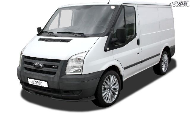 Frontspoiler VARIO-X FORD Transit MK6 (2006-2013) Frontlippe Front Ansatz Vorne Spoilerlippe