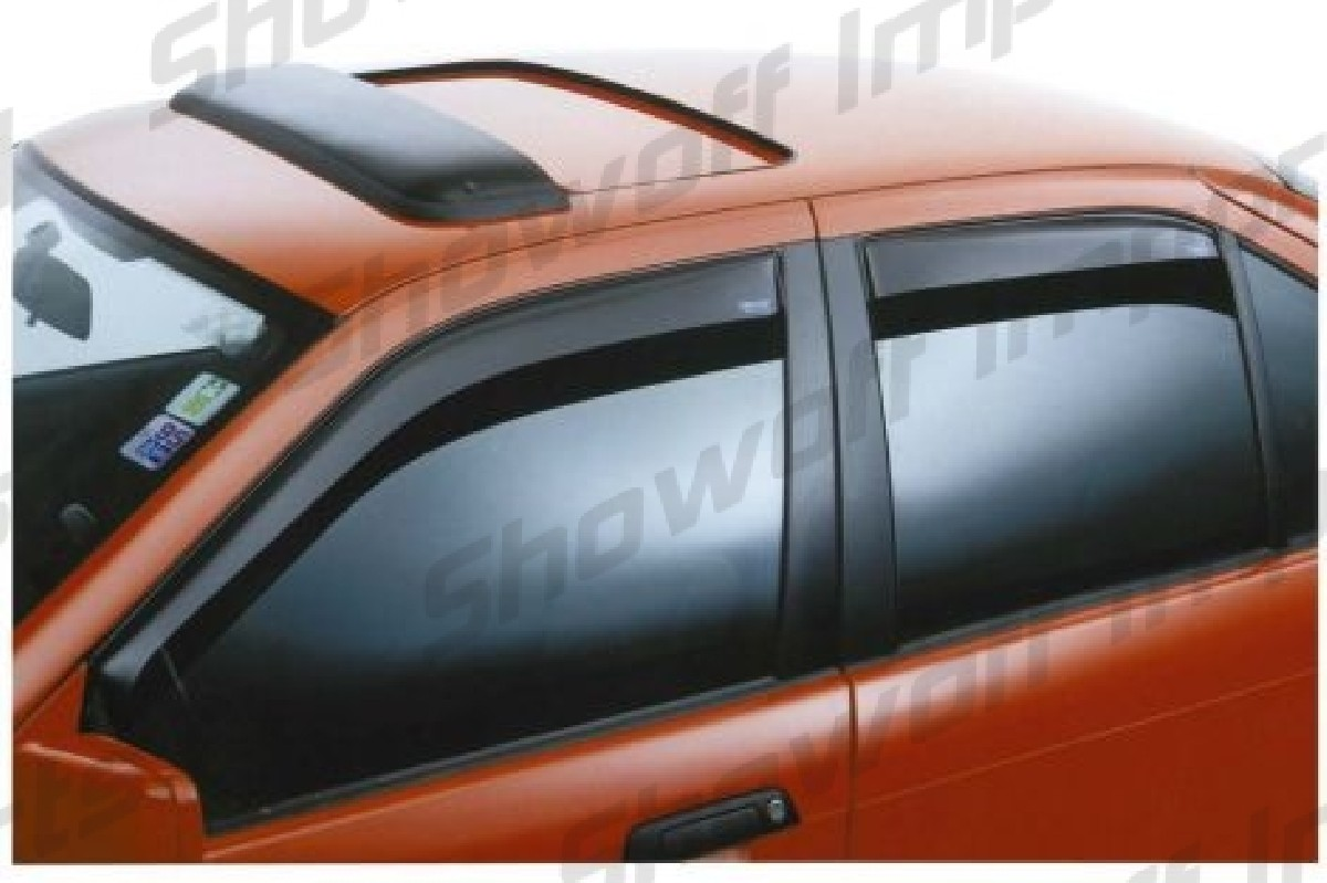 Mitsubishi Space star 98+ 5D Window Visors Front Set