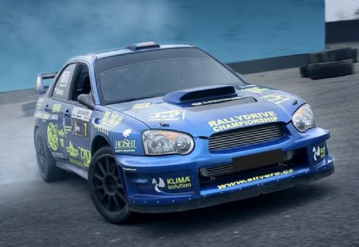Subaru Impreza WRX 04-05 Wide Front Fenders WRC Style