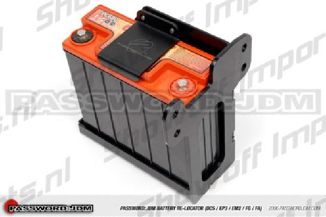 Civic/ITR EP3/DC5 Battery Relocation Kit PWJDM