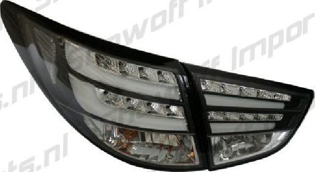 Hyundai IX35 10+ LED Taillights Set Black