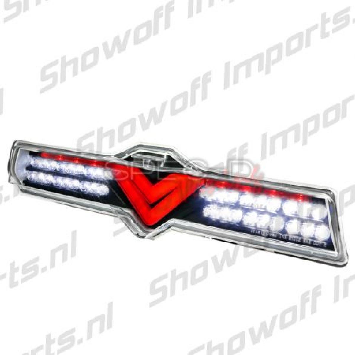 Subaru BRZ Black/Clear Full LED Brakelight