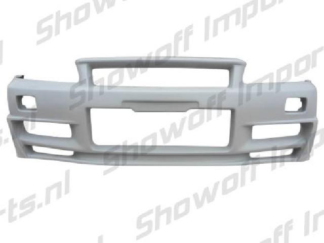 Nissan Skyline R34 GTT Z-Tune N1 Wide Front Bumper [AUTOR]