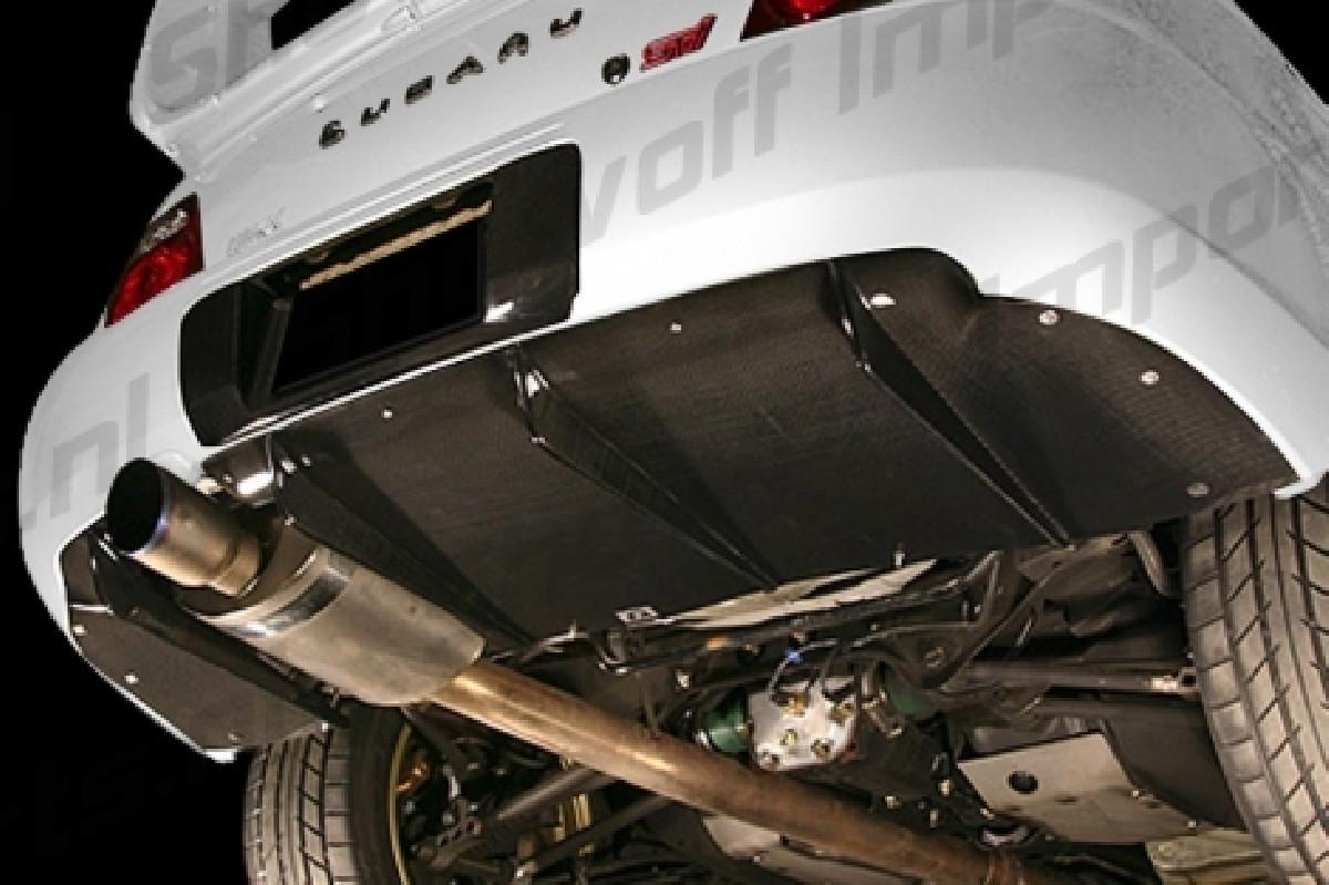 Subaru Impreza WRX/STI 01-06 BRD Rear Diffuser