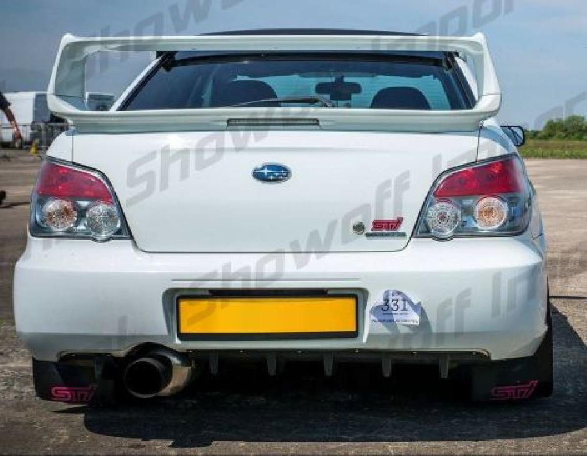 Subaru Impreza WRX/STI 03-07 Rear Diffuser BRD2