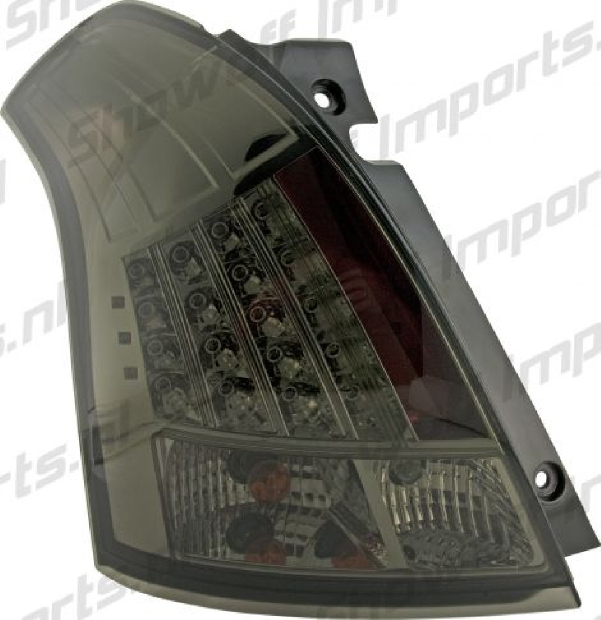Suzuki Swift 05-11 LED Taillights Set Smoke