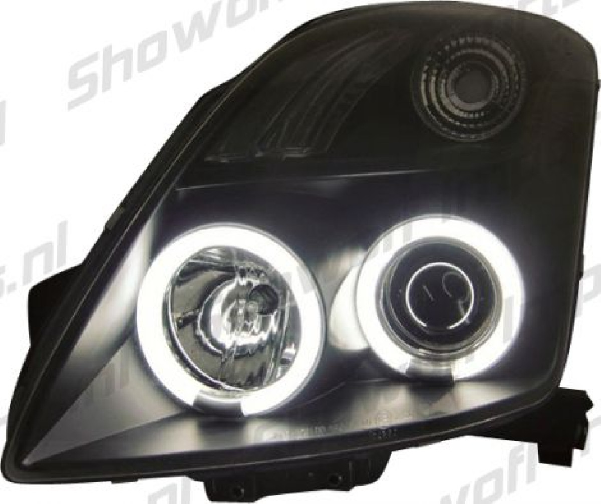 Suzuki Swift 05-11 Headlights Set Black w/ CCFL