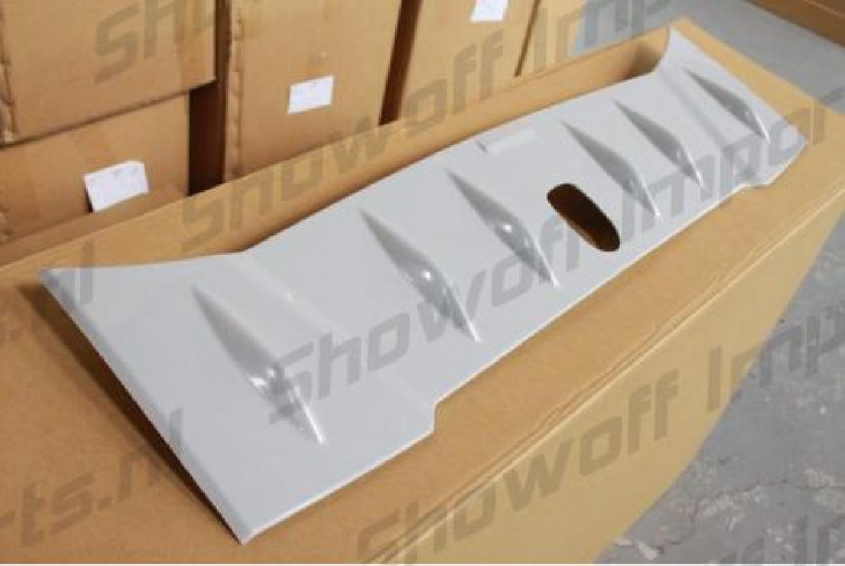 Roof Fin Spoiler BF Antenna Hole ABS [SIX]