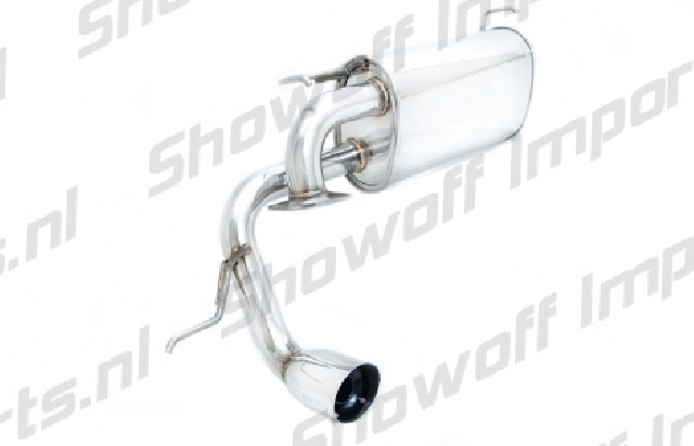 Toyota MR2 Axle Back Exhaust Megan Racing