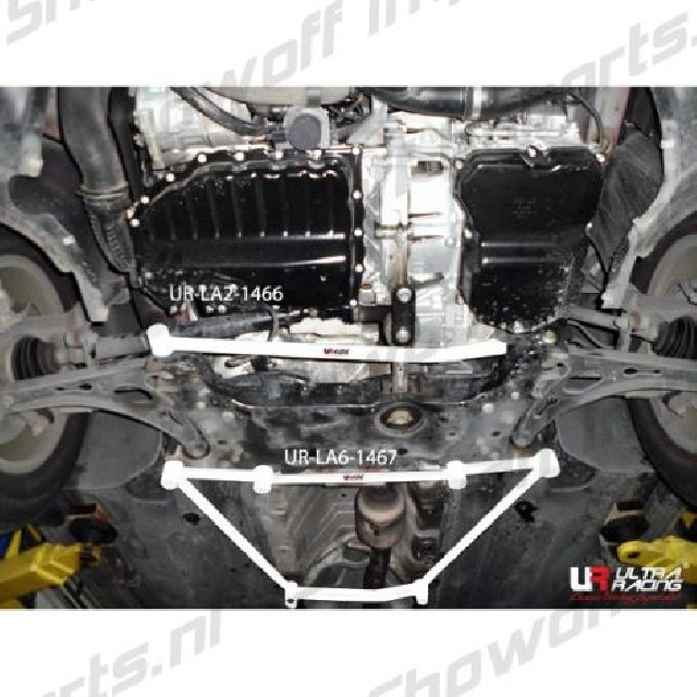 Skoda Yeti 09+ Ultra-R 6-Point Front Lower Brace