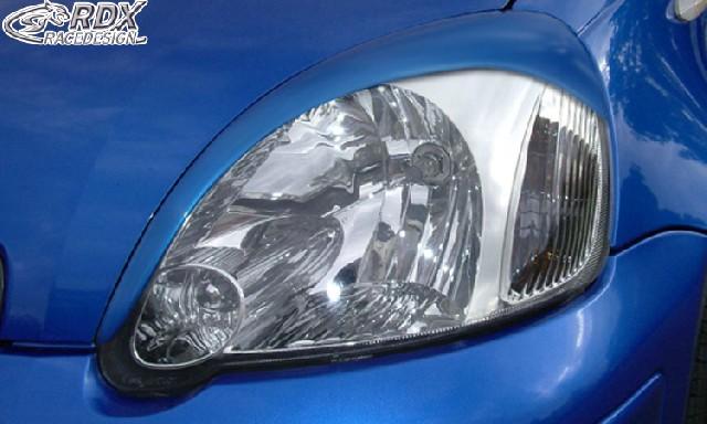 RDX Scheinwerferblenden Toyota Yaris -2006 Böser Blick