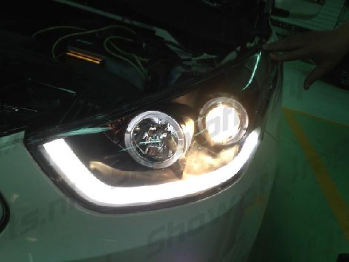 Hyundai IX35 10+ Headlights Set Black