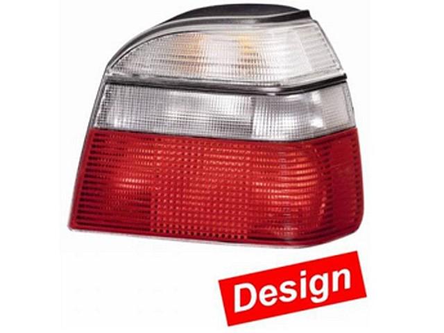 Hella Upgrade Heckleuchten Set VW Golf 3 Bj. 09/91-08/97 weiß/rot