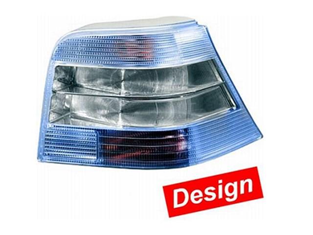 Hella Upgrade Heckleuchten Set VW Golf 4 Bj. 09/97-06/05 blau/weiß