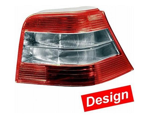 Hella Upgrade Heckleuchten Set VW Golf 4 Bj. 09/97-06/05 rot/weiß