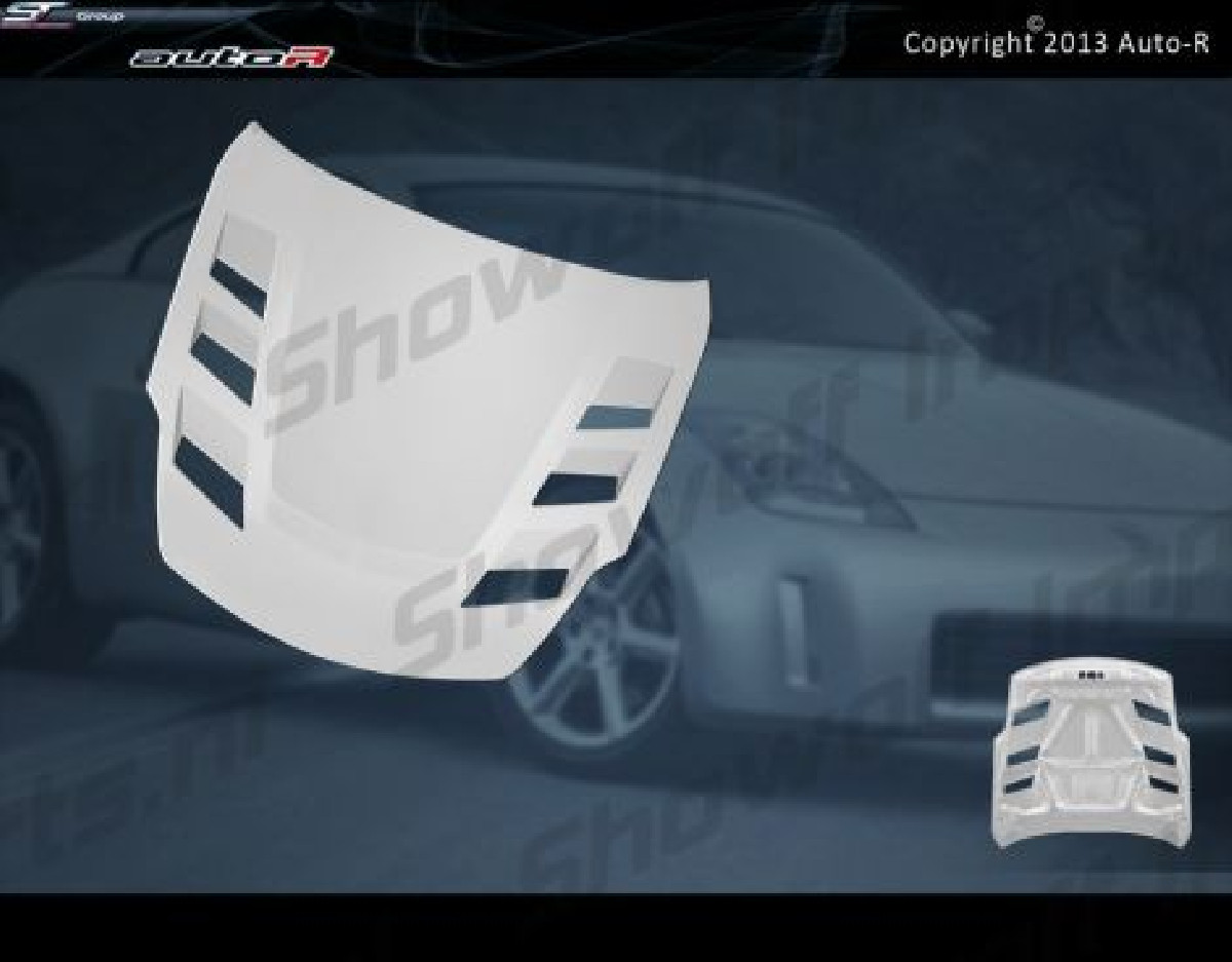 Nissan 350Z 02-06 FRP Race Hood Top Secret Style [AUTOR]