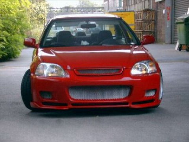 Type-R Grill Honda Civic 99-00 Facelift