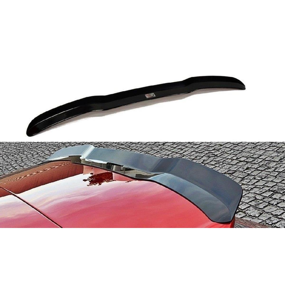 Heck Spoiler Aufsatz Abrisskante für Audi S3 / A3 S-Line 8V / 8V FL Hatchback / Sportback schwarz matt