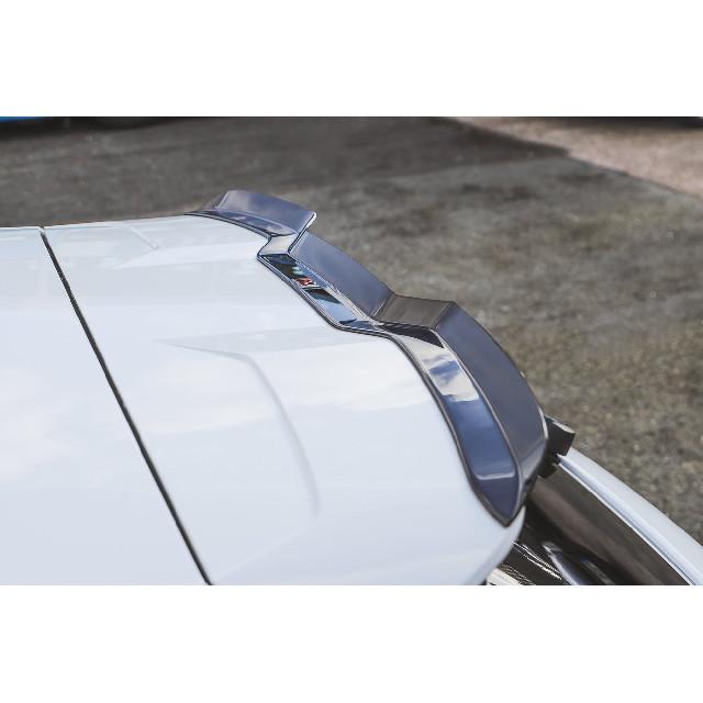 Heck Spoiler Aufsatz Abrisskante V.3 für Audi RS3 8V / 8V FL Sportback schwarz matt