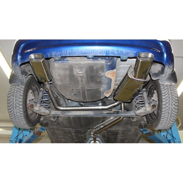 Hyundai Accent - MC Endschalldämpfer Ausgang rechts/links - 135x80 Typ 53 rechts/links