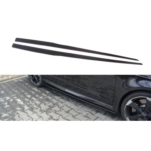 Sport Seitenschweller Ansatz Cup Leisten V.1 für Audi RS3 8V FL Sportback