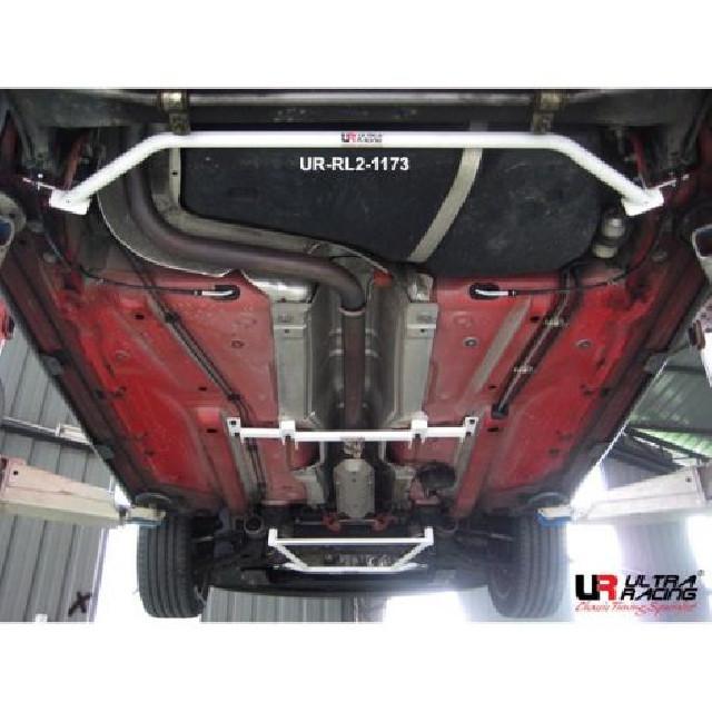 Audi A1 10+ UltraRacing 2-Point Rear Lower Tiebar 1173