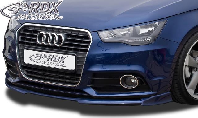 Frontspoiler  für AUDI A1 8X & A1 8XA Sportback (-01/2015, nicht S-Line) Frontlippe Front Ansatz Vorne Spoilerlippe
