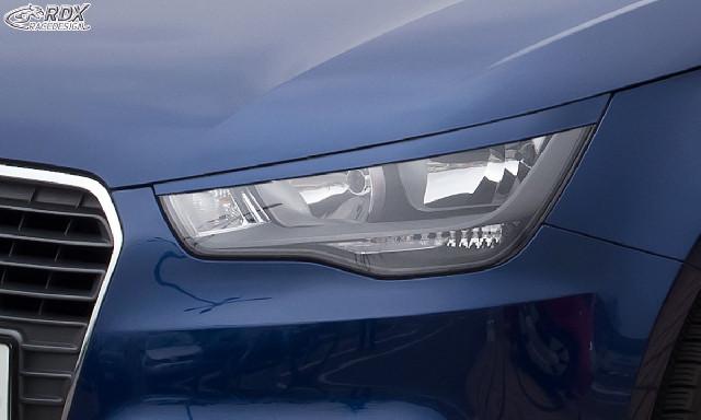 Scheinwerferblenden für AUDI A1 8X & A1 8XA Sportback (-01/2015) Böser Blick